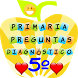 Diagnostico quinto de primaria by lunitsoft