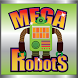 Mega Robots Slot Machine by EZLearnApps.com