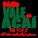 Radio Vale do Acaí by É-Host-Soluções