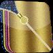 Glitter Zip Screen Locker by fiziapps