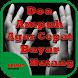 Doa Ampuh Agar Cepat Bayar Hutang by Kramat Developer