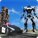 Police Transformation Robot: Police Car Robot Wars by crushiz