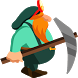 Digging Dwarf by Funny Fun Games