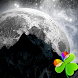 GO Launcher EX Cosmos Moon 2 by Sandromeda Themes