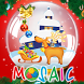 Animated puzzles snow globe by booktouch