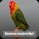 Masteran Lovebird Mp3 by LionBorn