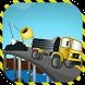 3D Road Construction Cargo Truck