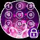 Purple Flower Love Locker Theme by 7star princess