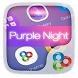 Purple Night GO Launcher Theme by Freedom Design