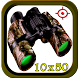 Mega Real Zoom Military Binoculars Camera HD by Stroika Inc