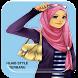 Video Tutorial Hijab Trendy by amanah dev