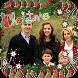 Merry Christmas Photo Frame by Black Light Studio