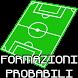 Formazioni Probabili Calcio A by Preekog