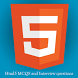 Html5 : MCQS tests and Interview Questions