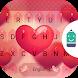 Sweet Heart Theme Keyboard by Best Keyboard Theme Design
