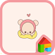 imshine HudiBear Simplepink D by iConnect for Theme