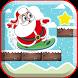 Santa Ski Jump Santa Running by CuteFun