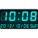 LED clock widget C-Me Clock by Android_media