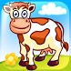 Funny Farm Puzzle for kids by McPeppergames