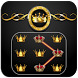 Luxury Gold Crown Applock by Applock Privacy Theme