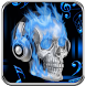 Scull on Fire Go Launcher by spikerose