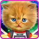 Talking baby cat in space by Cosmic Mobile
