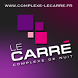 Le Carré Complexe de nuit by Flow44