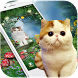 Cute Pet Cats Green Forest Wallpapers