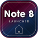 Note 8 Launcher - Launcher SS Galaxy Note