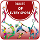 Rules of Every Sport by PLUTO APPS