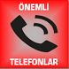 ÖNEMLİ TELEFONLAR by MKprl