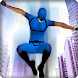 Flying Superhero: City Battle by microclip