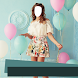 Girl Short Dress Photo Montage by Daki Montages