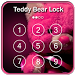 Teddy Bear Keypad lock Screen by eNIX solution