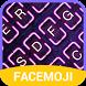 Neon Emoji Keyboard Theme by Free Keyboard Themes PRO