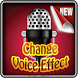 Change Voice Editor effects by apk.week