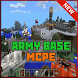 Army Base Minecraft Map MCPE by Nevergreen soft