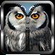 Gray Owl Zipper Lock Screen by Manual Tech