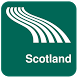 Scotland Map offline by iniCall.com