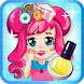 Nail salon shop girl by UBoost