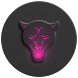 Pink-In-Black - icon pack by An_Arj_Art