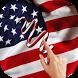 US Flag Gesture Lock Screen by dexati