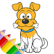 Dogs - Children Coloring Book by Cool & Fun Kids Games