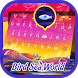 Bird Sea World Theme&Emoji Keyboard by Cool Keyboard Theme Design
