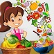 Kids Healthy Salad Bar Game by Kids eSchool