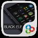 Black Elf GO Launcher Theme by Freedom Design