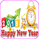 Happy New Year Greetings 2018 by iuniqueapps