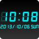 LED clock widget CT-Me Clock by Android_media