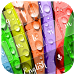 Colorful Flower Keyboard Theme by Designer Superman