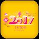 Happy Lunar New Year 2017 QQ8 R3D3 C5PO by Weather Widget Theme Dev Team